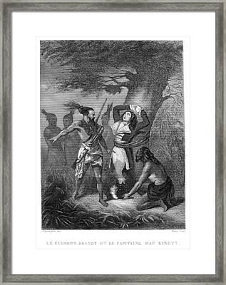 Joseph Brant (1742-1807) Framed Print by Granger