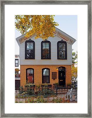 Joseph J O'connell House Chicago Framed Print by Christine Till