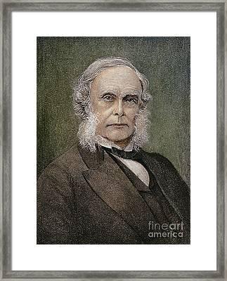 Joseph Lister (1827-1912) Framed Print by Granger