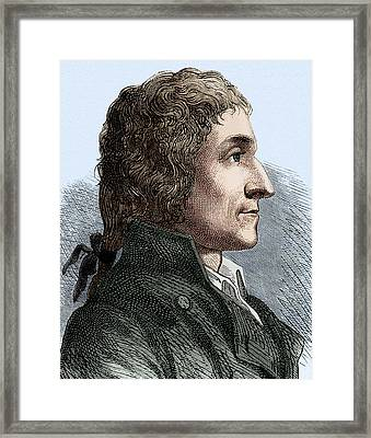 Joseph Louis Proust Framed Print by Sheila Terry