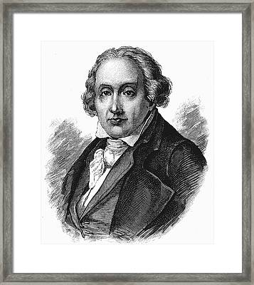 Joseph Marie Jacquard Framed Print by Universal History Archive/uig