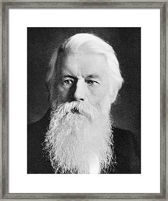 Joseph Swan Framed Print by Science Photo Library