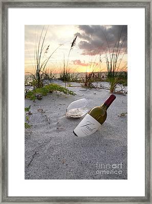 Josh Wine Framed Print by Jon Neidert