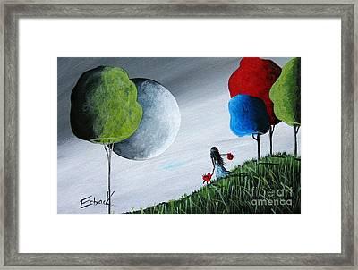 Journey Home By Shawna Erback Framed Print by Shawna Erback