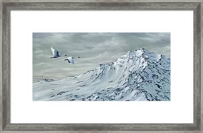 Journey Framed Print by Rick Bainbridge