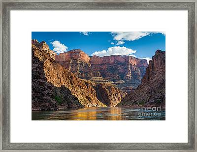 Journey Through The Grand Canyon Framed Print by Inge Johnsson
