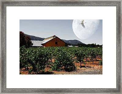 Journey Through The Valley Of The Moon 5d24485 Framed Print by Wingsdomain Art and Photography