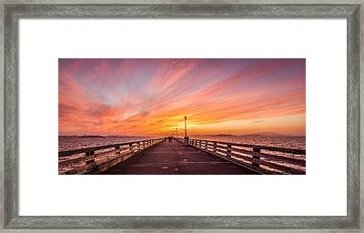 Journey To Center Of The World Framed Print by Amit Shinde