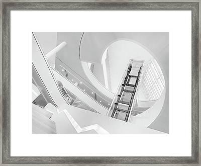 Journey To The Light Framed Print by Jeroen Van De