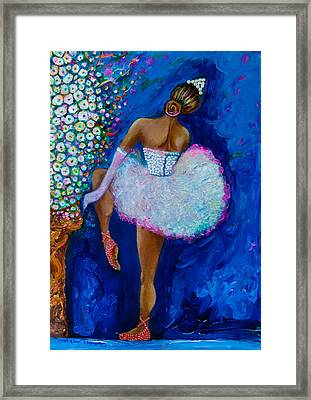 Joy #2 Framed Print by Gulgun Turker Fingerhut