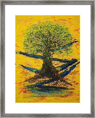 Joy And Strength Framed Print by William Killen