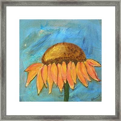 Joy Framed Print by Barbara Harvie