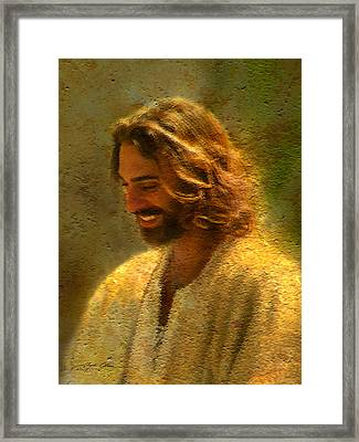 Joy Of The Lord Framed Print by Greg Olsen