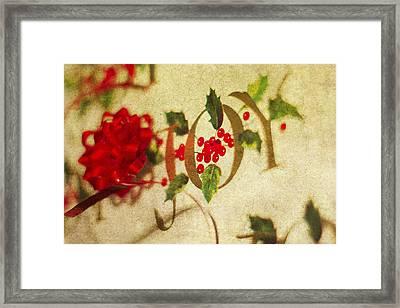 Joy Framed Print by Rebecca Cozart