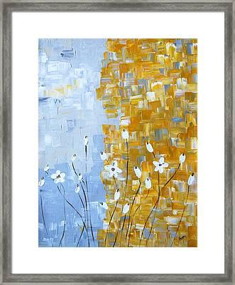 joy Framed Print by Sonali Kukreja