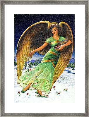 Joy To The World Framed Print by Lynn Bywaters