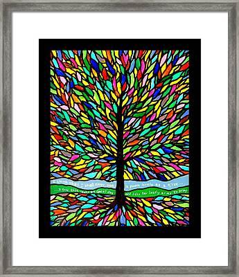 Joyce Kilmer's Tree Framed Print by Jim Harris