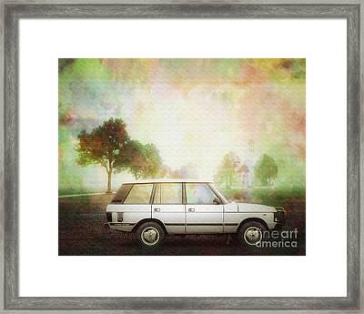 Joys Of Refined Motoring  Framed Print by Edmund Nagele