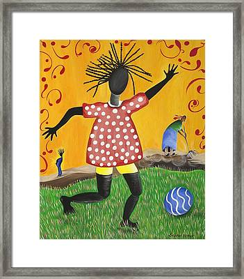 Joy's Promise Framed Print by Patricia Sabree