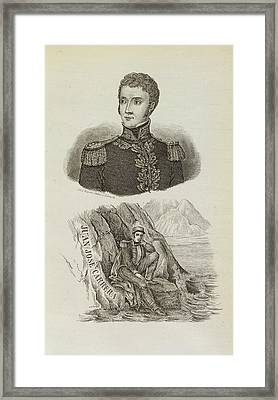 Juan Jose Carrera Framed Print by British Library