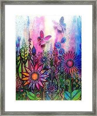Jubilant Framed Print by Robin Mead