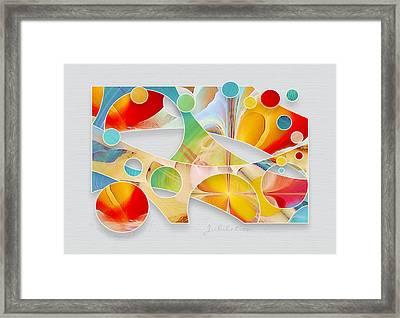 Jubilation Framed Print by Gayle Odsather