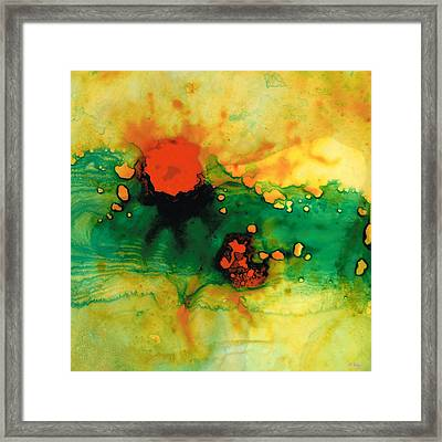 Jubilee - Abstract Art By Sharon Cummings Framed Print by Sharon Cummings