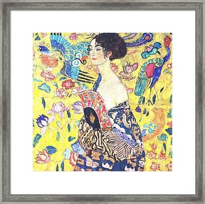 Judith 2 By Gustav Klimt Framed Print by Pg Reproductions