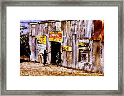 Juke Joint Framed Print by Benjamin Yeager