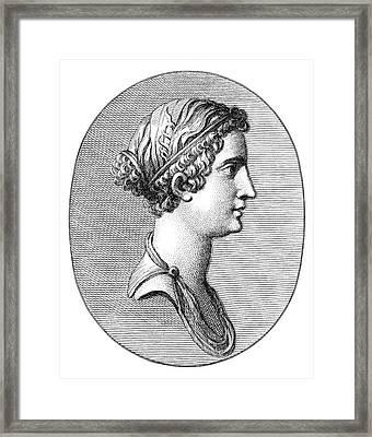Julia (39 B Framed Print by Granger