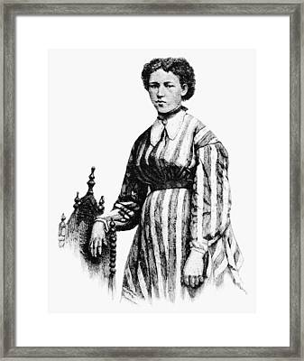 Julia Hayden Framed Print by Granger