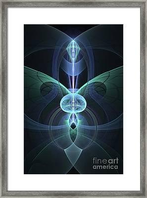Julian's Inner Beauty Framed Print by Jaclyn Hughes Fine Art
