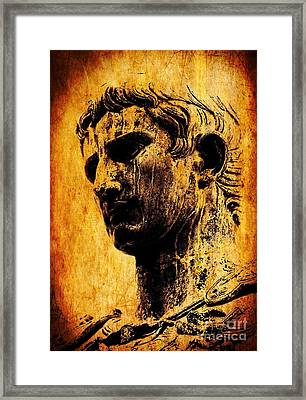 Julius Caesar  Framed Print by Mike Grubb