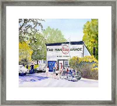 July Fair Haven Ny Framed Print by Carol Burghart