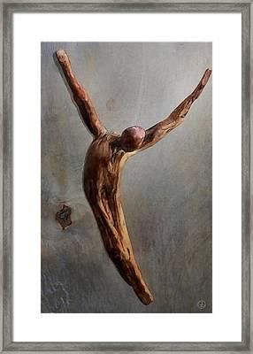 Jump Framed Print by Gun Legler