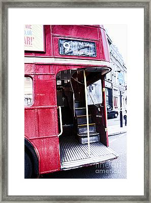 Jump On Board Framed Print by Jasna Buncic