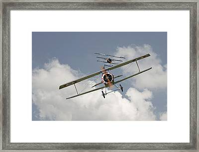Jumped Framed Print by Pat Speirs