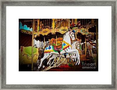 Jumper Framed Print by Colleen Kammerer