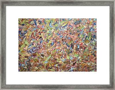 June Framed Print by James W Johnson