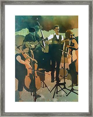 June Tune Framed Print by Kris Parins