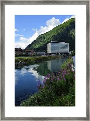 Juneau Federal Building Framed Print by Cathy Mahnke