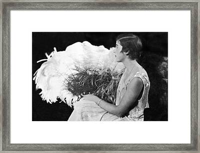 Junior League Fashion Show Framed Print by Underwood Archives