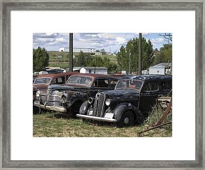 Junk Or Treasure Framed Print by Daniel Hagerman