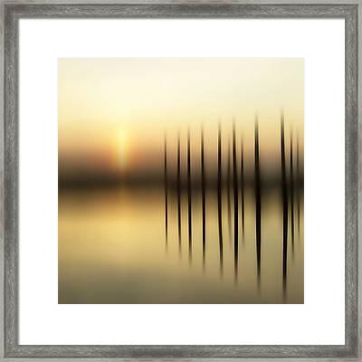 Jury Of Piers Framed Print by Bob Retnauer