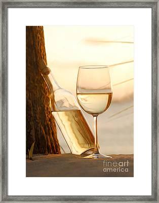 Just A Beautiful Day Framed Print by Jon Neidert