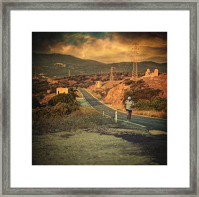 Just A Dream Framed Print by Taylan Soyturk