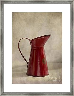 Just A Jug Framed Print by Linsey Williams