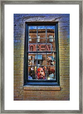 Just A Pinch Of Psychedelic Framed Print by Lee Dos Santos