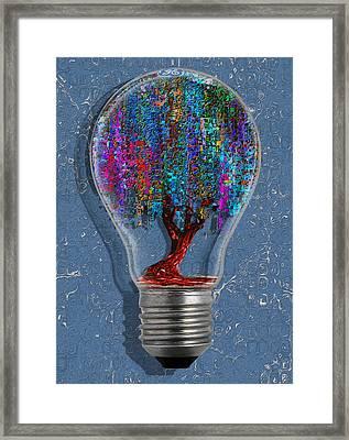 Just An Idea Framed Print by Jack Zulli