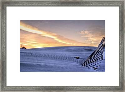 Just Another Day At The Beach Framed Print by JC Findley